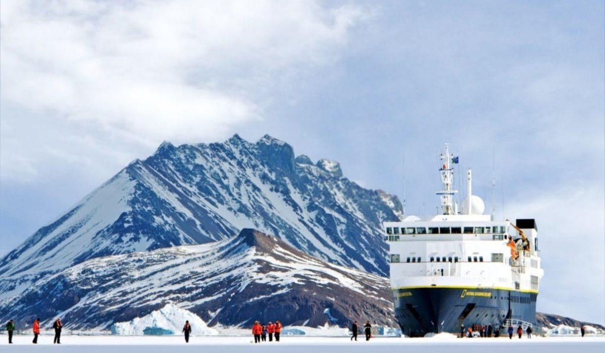 Exploring the Antarctic ice © Michael S Nolan