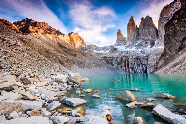 Torres del Paine towers, W Trek