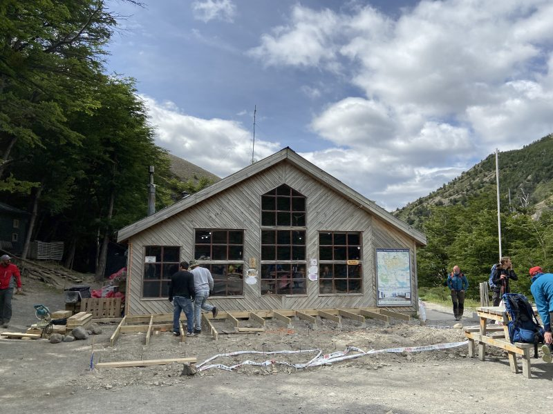A rustic building in Torres del Paine National Park